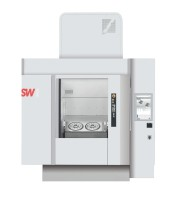 Two-spindle BA 322 by SW with integrated open automation by Bosch Rexroth