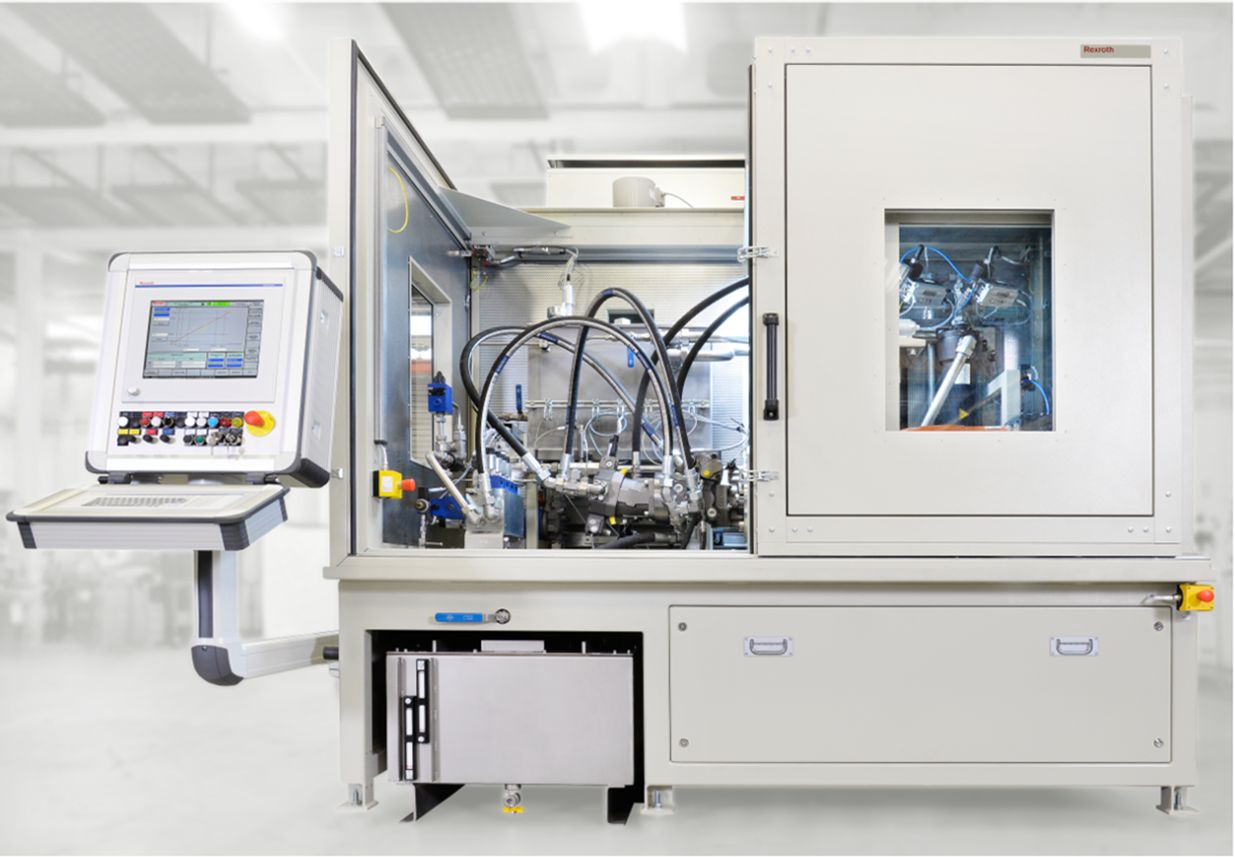 Hydraulic Fluids On The Test Bench Bosch Rexroth Ag